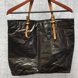 Latico crinkled leather tote